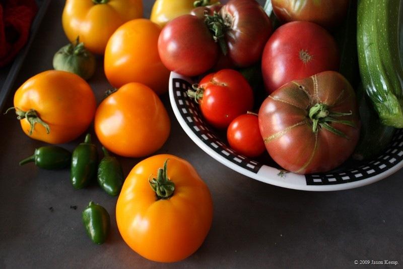 Garden Fresh Tomato Salsa