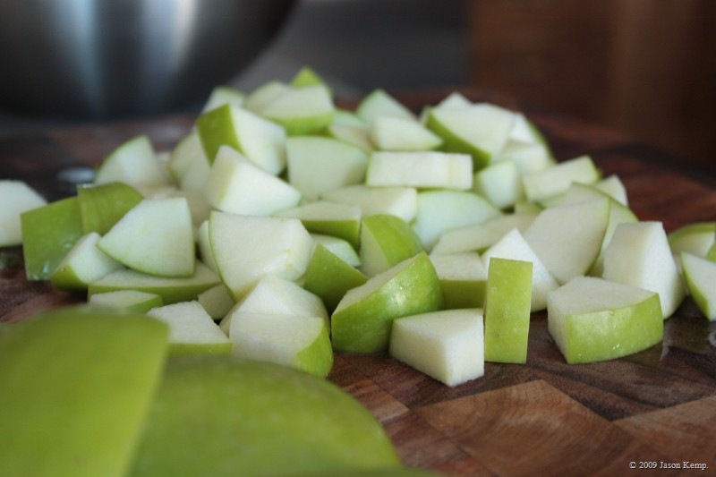 Delicious, crisp and tart: Granny Smith apples totally work in this salad.