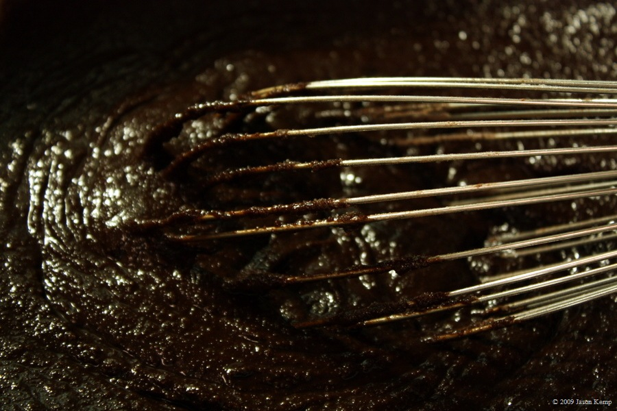 This whisk is seriously awesome. I use it to whip cream, and chocolate sauce and brownie mixture