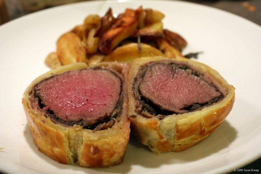 Classy Beef Wellington
