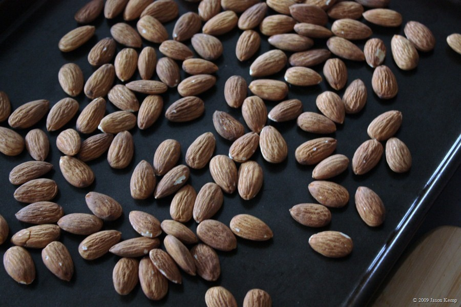 California Natural almonds roasted to perfection