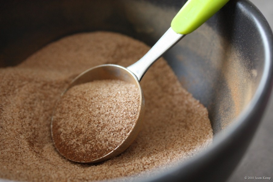 Cinnamon sugar: you're going to need this later.