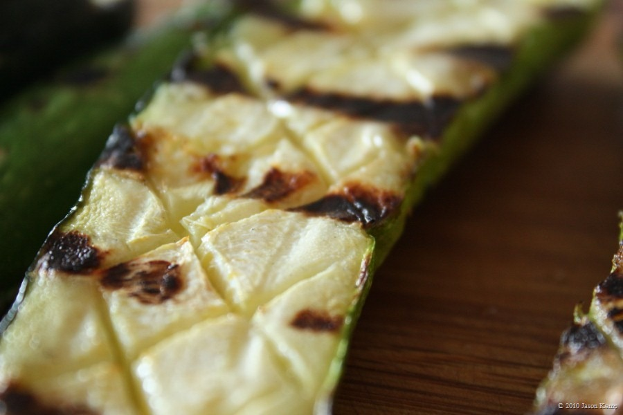 Glorious Grilled Zucchini