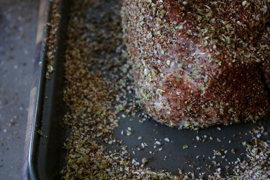 The bark is the best part of pulled pork. You get good bark with a good rub of your favourite spices.