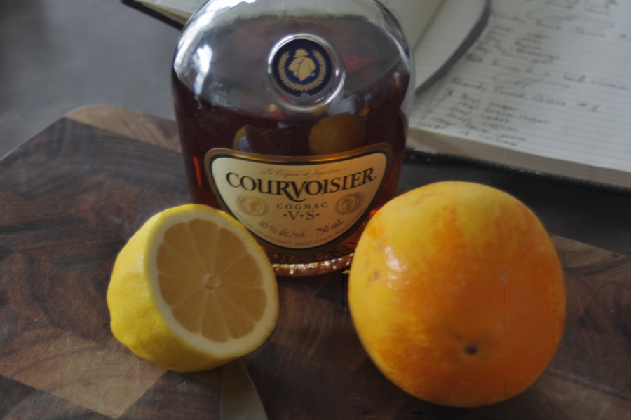 Courvoisier is Cognac. Cognac is brandy.