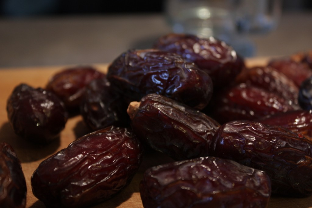 Dates, ready for wrapping